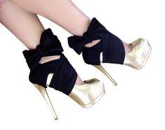 Ballerina heels.