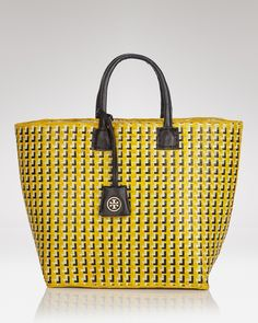 Tory Burch Tote - Straw Small | Bloomingdale's