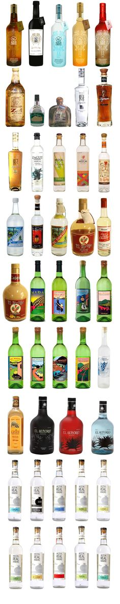 I think we should have at least one bottle of Mezcal. It's hot right now.
