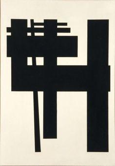 GUY VANDENBRANDEN (NÉ EN 1926) Sans titre, Composition, 1958 Huile sur toile Sign