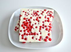 Cinnamon Red Hots White Chocolate Candy