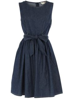 Indigo denim prom dress - View All - Dresses - Dorothy Perkins ($20-50) - Svpply