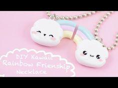 Easy DIY Rainbow Friendship Necklaces ! | Kawaii Friday! - YouTube
