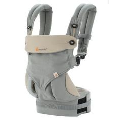 f1445065059 Ergobaby Bundle - 2 Items  Four Position 360 Carrier (Grey) with Easy Snug  Infant Insert (Grey) The ErgobabyTM EASY SNUG Infant Insert allows you to  carry ...