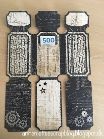 Anne-Mette´s scrapblog: Tonic Studios Legacy keeper wallet Album Maker, Book Maker, Cocktails, All Paper, Memory Books, Masculine Cards, Mini Books, Tim Holtz, Paper Design