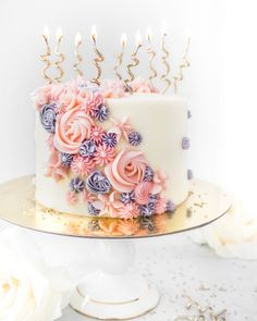 Buttercreme-Blumen-Geburtstags-Kuchen by Flour & Floral. 2019 Buttercreme-Blumen-Geburtstags-Kuchen by Flour & Floral. The post Buttercreme-Blumen-Geburtstags-Kuchen by Flour & Floral. 2019 appeared first on Birthday ideas. Unique Birthday Cakes, Birthday Cake With Flowers, Beautiful Birthday Cakes, Birthday Cakes For Women, Birthday Cake Girls, Beautiful Cakes, Amazing Cakes, 28th Birthday, Birthday Desserts