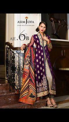 Asim Jofa eid collection 2014