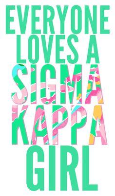 Sigma Kappa Girls