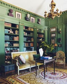 Looking for library inspiration? Check out these 20 stunning home libraries.
