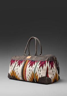 will leather goods - oaxacan duffle.