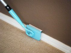 Baseboard Buddy cleans your baseboards easily without bending and stooping (saving your knees and back). It also cleans the tops of your door moldings without need for a ladder. $24.99