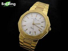 1円 ボーム&メルシエ リビエラ K18YG無垢 メンズ腕時計 HG670_画像1