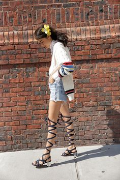 Stick a flower in your hair and call it a day. http://www.manrepeller.com/2015/07/summer-hairstyles.html