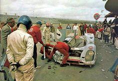 Siffert - Redman Porsche 917 at Daytona 1970