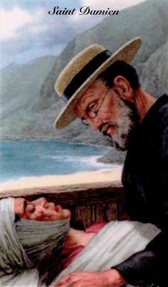 St Damien of Molokai | http://www.saintnook.com/saints/damienofmolokai | PRAYER TO SAINT DAMIEN OF MOLOKAI.