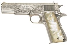 Dean Winchesters 1911 Maybe with a different handle. Not a huge fan of mother-of-pearl