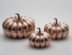 Copper pumkins