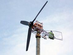 "Mini DIY 12"" Wind turbine"