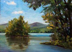 """Island on Lake George"" by Takeyce Walter"