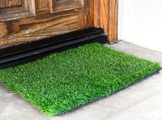 Grass Door Mat - Perfect For Indoors, Balcony & Porch (24X30 Inches)