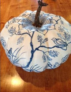 The Chinoiserie Pumpkin | Relished Roost / Karolyn