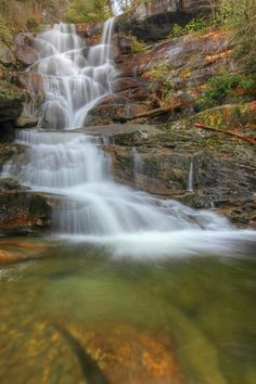 ✮ Ramsey Cascades in the Greenbriar area of Great Smoky Mountains National Park.