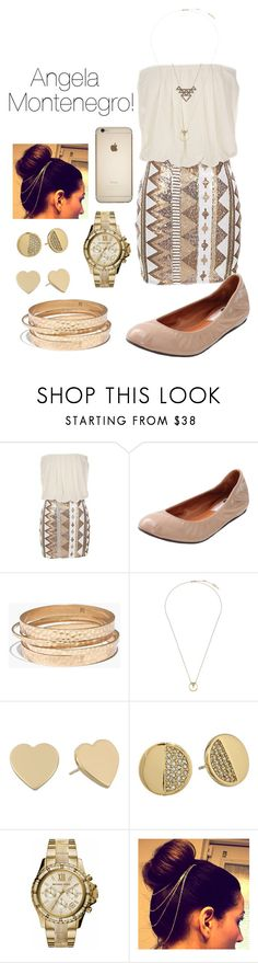 """Look of the day #38! (Inspired by Angela Montenegro from Bones)"" by designer01kitty ❤ liked on Polyvore featuring Lanvin, Madewell, Whistles, House of Harlow 1960, Kate Spade, MICHAEL Michael Kors, women's clothing, women's fashion, women and female"