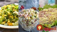 Vyskúšajte hneď na večeru: 10 rýchlych a chutných šalátov s vajíčkami – výborné aj na obložené chlebíky a jednohubky! Good Food, Yummy Food, Guacamole, Potato Salad, Kefir, Ethnic Recipes, Garden, Diet, Garten