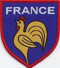 France Football Badge Patch 7.5 x 6.8cm http://www.wovenbadge.com/