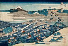 Hokusai, 36 Views of Mount Fuji,