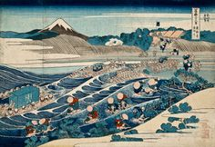 Hokusai, 36 Views of Mount Fuji,