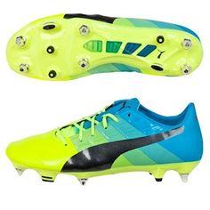 5a521884c9dd Puma evoPOWER 1.3 SG Football Boots Yellow