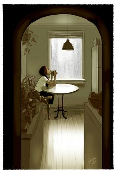 25 Illustrations That Capture the Joy of Living Alone as an Introvert