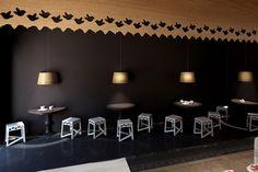 Респектабельный интерьер пекарни и кафе Maxibread