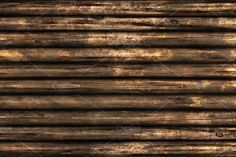 10 Wood Logs Wall Background Texture - Textures - 5