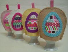 Gratis patroon eierwarmer van vilt - Hobby