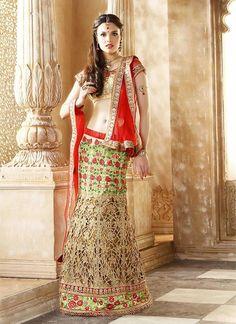 Ethnic Pakistani Indian Choli Bollywood Wedding Lehenga wear Traditional Bridal…