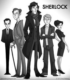 """Sherlock by aerettberg"" Uh, where's Molly?!?"