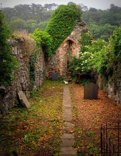 Ancient Church, Derrry, Northern Ireland