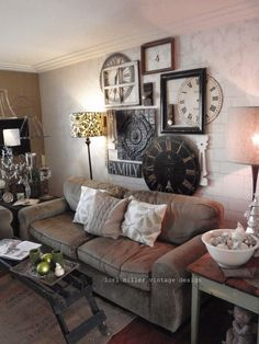 Christina...reminds me of your living room.  Like the arrangement on the wall behind the sofa.