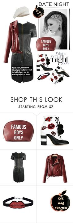"""Hot Date Night Style"" by ragnh-mjos ❤ liked on Polyvore featuring Charlotte Russe, GEDEBE, Louis Vuitton, chuu, DateNight, contest and outfit"