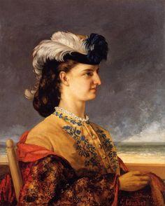 Πορτρέτο της κοντέσας Κaroly (1865)