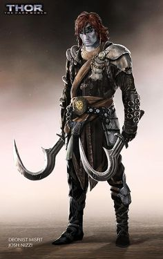 THOR: THE DARK WORLD Concept Art by Josh Nizzi Featuring Unused Characters - Deonist