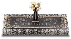 Sculpted from the finest memorial bronze, our exquisite companion bronze grave markers stand solid on a durable granite base.