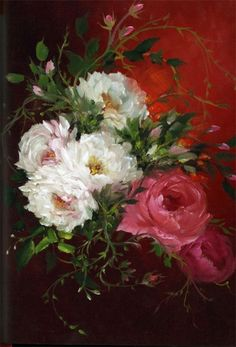 Gary Jenkins oil painter and flower specialist of roses. Art Floral, Gary Jenkins, Rose Pictures, Oil Painters, China Painting, Art Themes, Beautiful Paintings, Art Oil, Painting & Drawing
