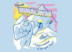 """Himalayas Souvenir Tee!"" - Threadless.com - Best t-shirts in the world"