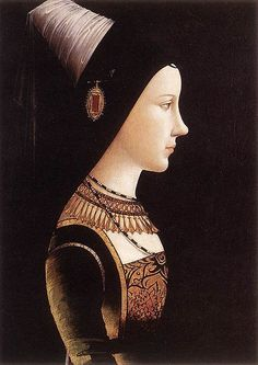Mary of Burgundy, c. 1490, by Micheal Pocher