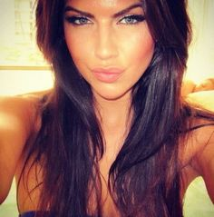 lovely eyes... the hair is to die for!