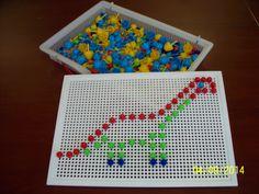 Montessori, Math Crafts, Eyfs, Motor Skills, Activities For Kids, Kindergarten, Preschool, Advent, Education