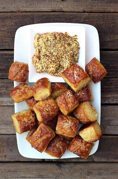 Gluten-free Soft Pretzel Bites (Dairy-free with Vegan option) // Tasty Yummies